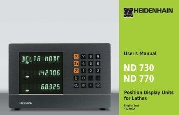 34169724 - heidenhain - DR. JOHANNES HEIDENHAIN GmbH