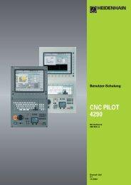 cnc pilot 4290 v7 - heidenhain - DR. JOHANNES HEIDENHAIN GmbH