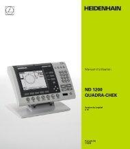 2.3 Configuration du logiciel - heidenhain - DR. JOHANNES ...