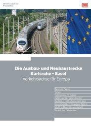 Die Bahn über das Projekt - Deutsche Bahn AG