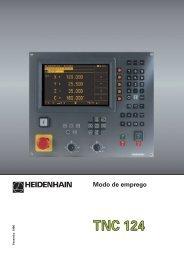 Modo de emprego - heidenhain - DR. JOHANNES HEIDENHAIN ...