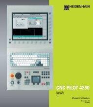 CNC PILOT 4290 - heidenhain