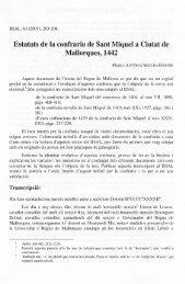 Estatuts de la confraria de Sant Miquel a Ciutat de Mallorques, 1442