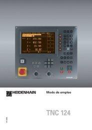 Modo de empleo TNC 124 - heidenhain - DR. JOHANNES ...