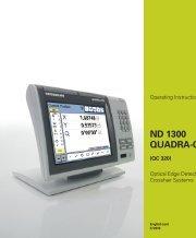 ND 1300 QUADRA-CHEK - heidenhain - DR. JOHANNES ...