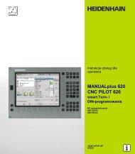 smart.Turn MANUALplus 620 / CNC PILOT 620 pl - heidenhain