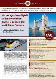 Reiseprospekt-Download - Leserreisen - Berliner Zeitung