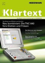 Klartext 54 PDF-Download - heidenhain - DR. JOHANNES ...