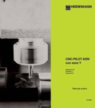 CNC-PILOT 4290 con asse Y - heidenhain