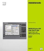 MANUALplus 620 / CNC PILOT 620 sv - heidenhain