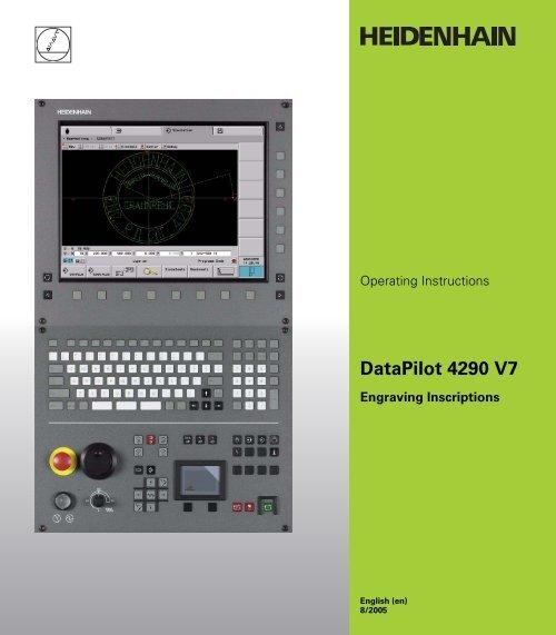 heidenhain datapilot 4290