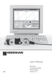 User's Manual - heidenhain