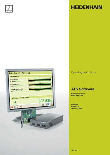 PWM20 / IK215 Operating Instructions, ATS- ... on
