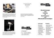 Dienstleistungen und Produkte für Hochfrequenz- und ... - wavelab.ch