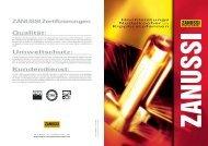 Hochleistungsgeräte - Electrolux