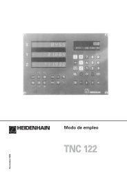 Modo de empleo TNC 122 - heidenhain