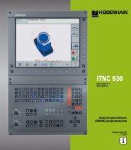 DIN/ISO: Benutzer-Handbuch iTNC 530 (340 420-xx) - heidenhain