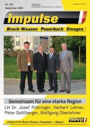 Gemeinsam für eine starke Region - ÖVP Peuerbach