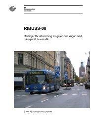 RIBUSS -08 i Rapportmall - SL