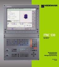 iTNC 530 - heidenhain