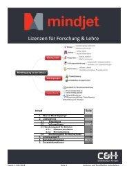 Mindjet Sales Guide - c&H Ausbildungsmedien Distribution GmbH