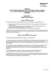 Schlichtungsordnung - Diakonisches Werk Hessen-Nassau