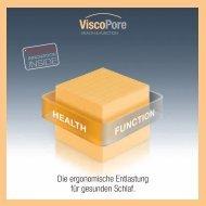 ViscoPore Broschuere - FoamPartner