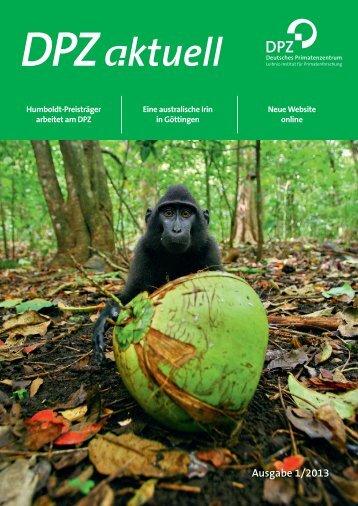 Ausgabe 1/2013 - Deutsches Primatenzentrum
