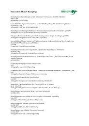 Referenzliste, 18.05.09 - Baumpflege BRAUN