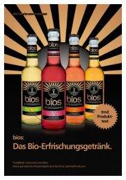 Das Bio-Erfrischungsgetränk. - trndload