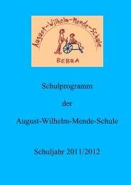 Schulprogramm der August-Wilhelm-Mende-Schule ... - sa.sch design