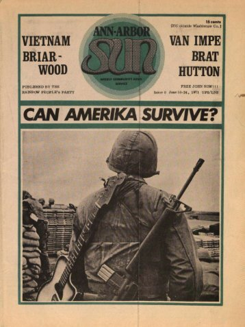 CAN AMERIKA SURVIVE? - Ann Arbor District Library