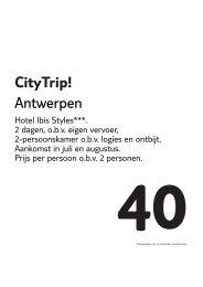 CityTrip! Antwerpen