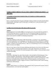 verksamhetsberättelse från idrottsprogrammet lå 2009/2010 1 ...