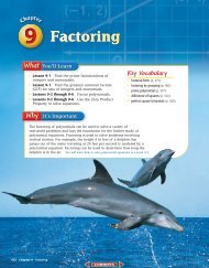 Chapter 9: Factoring - MathnMind