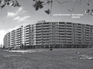 concrete toronto the modern suburbs - ERA Architects Inc.