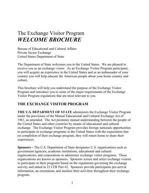 The Exchange Visitor Program - Cedars-Sinai