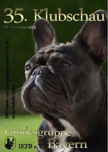 Ausschreibung - Internationaler Klub für Französische Bulldoggen eV