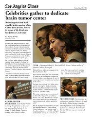 Johnnie L  Cochran, Jr  Brain Tumor Center     - Cedars-Sinai
