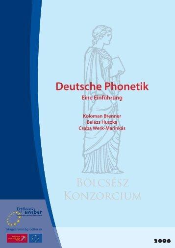 Deutsche Phonetik – eine Einführung - MEK