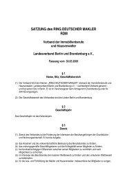 Verbandssatzung - RDM
