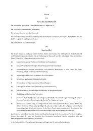 Satzung § 1 Name, Sitz, Geschäftsbereich Der Verein führt den ...
