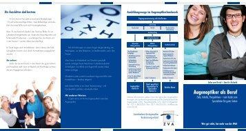 Augenoptiker als Beruf