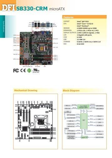 SB330-CRM microATX - Dfi