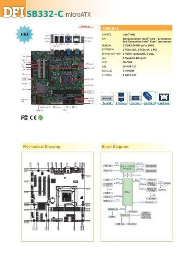 SB332-C microATX - Dfi