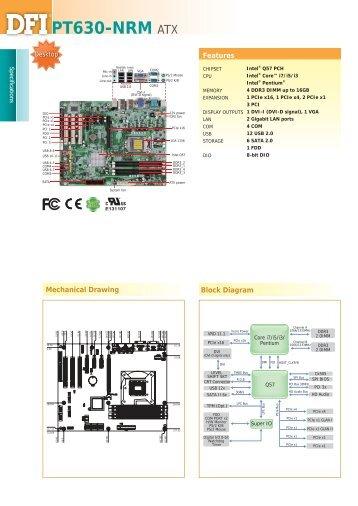 PT630-NRM ATX - Dfi