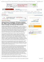 Clinical Proof of Concept for TGF-beta 2 ... - Antisense Pharma
