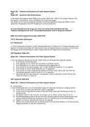 Regel 330 – Videotorrichtersystem und Video Support System ... - APA