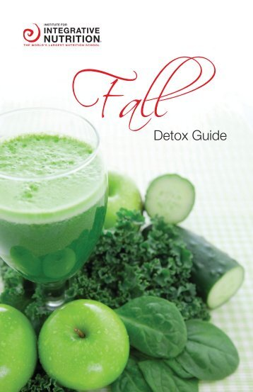 FallDetox Guide - Integrative Nutrition Health Coach Websites