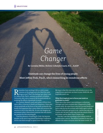 Game Changer - Integrative Nutrition Health Coach Websites
